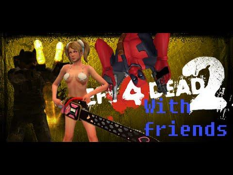 Left 4 Dead 2! With Soul Mystique & BoredomKillr!(ROCHELLE'S A DUMB BITCH)
