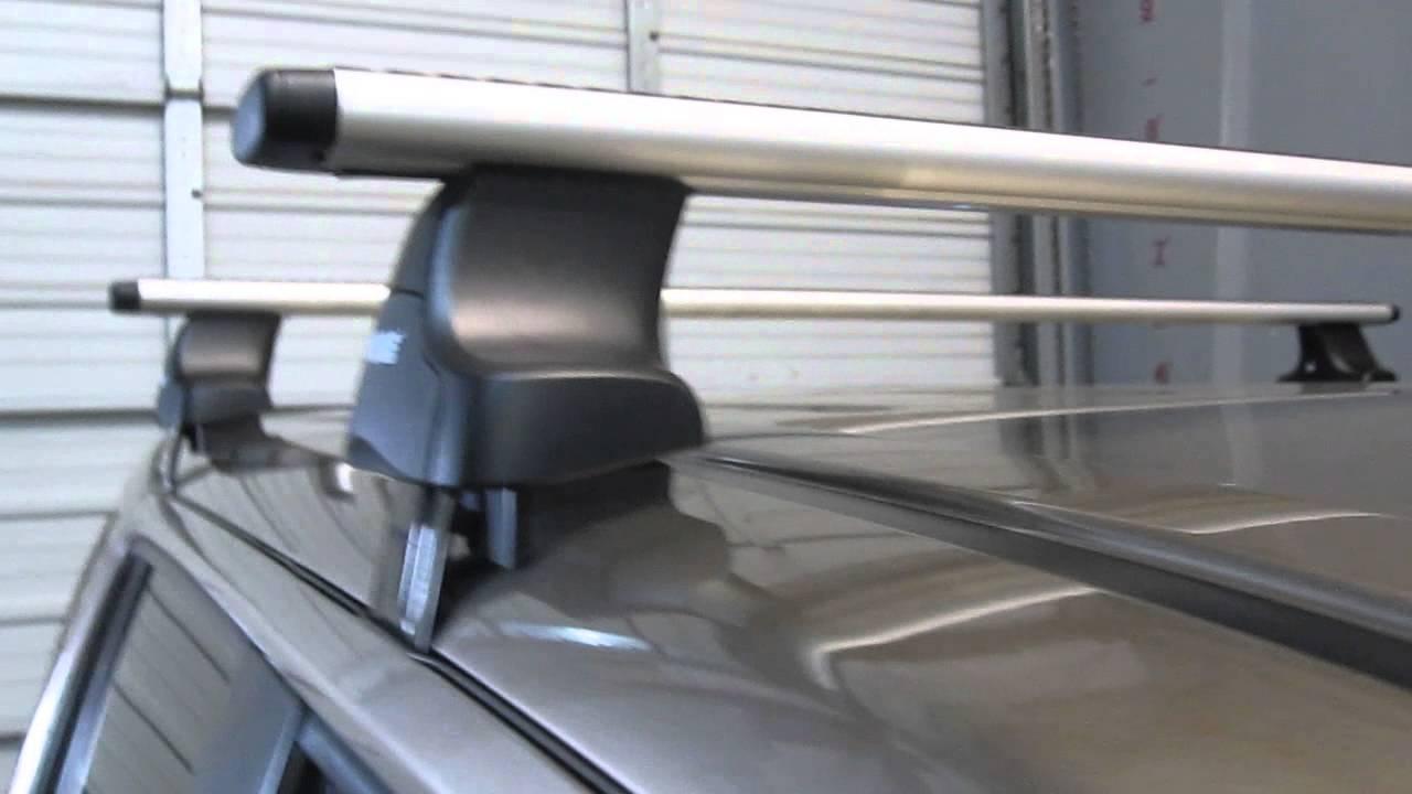 Honda Pilot U002706 U002713 Thule 480R Traverse AeroBlade Roof Rack By Rack  Outfitters