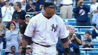 Bernie Williams' final Major League hit
