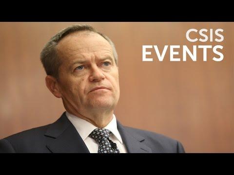 Global Leaders Forum with Bill Shorten, Australian Opposition Leader