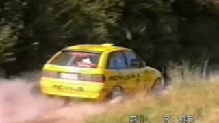 Rally Žilina 1995 část.1