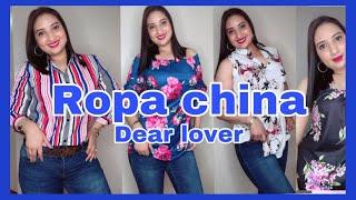 HAUL ROPA CHINA/DEAR LOVER /LO QUE PEDI VS LO QUE RECIBI
