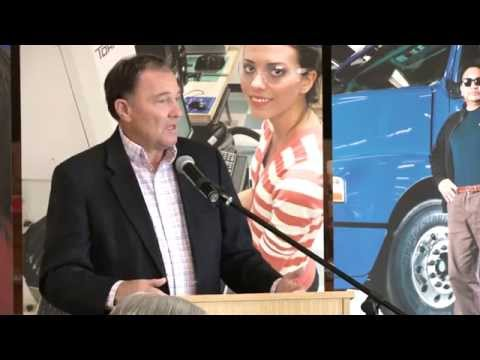Utah Governor Gary Herbert visits Vernal August 23, 2014