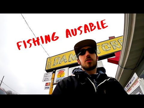 AuSable River Steelhead Hunt Continues (with Zach)