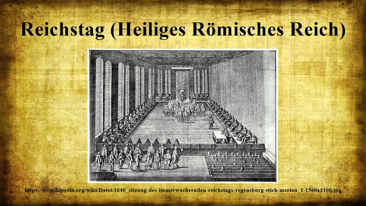 reichstag heiliges r misches reich youtube. Black Bedroom Furniture Sets. Home Design Ideas