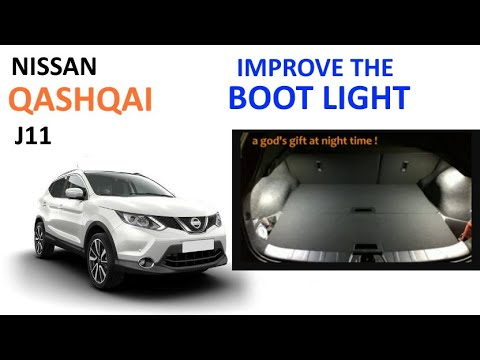 Cheap Way To Improve Your Nissan Qashqai S Boot Light Youtube