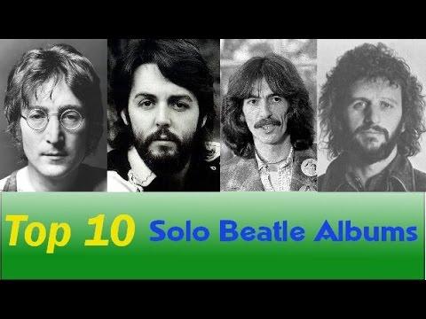 Top 10 Solo Beatles Albums