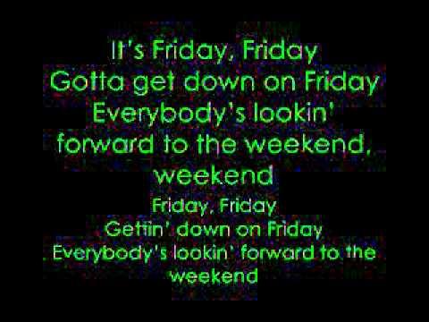 Friday Lyrics: Rebecca Black