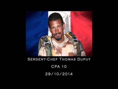 Hommage aux soldats Français morts au Mali