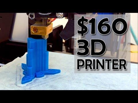 Cheap 3D Printer kit review & Timlapse print   Tronxy 3DCSTAR P802 MHS   Gearbest