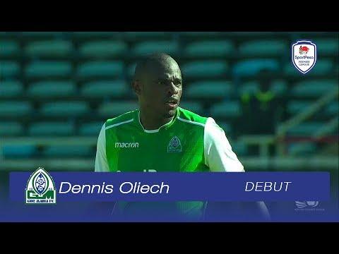 Dennis Oliech's Debut for Gor Mahia | Sun, 06.01.2019 | SPL 2018-19 Round 06