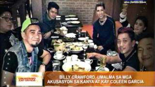 Billy Crawford defends