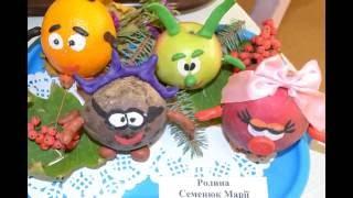 Идеи поделок из овощей и фруктов