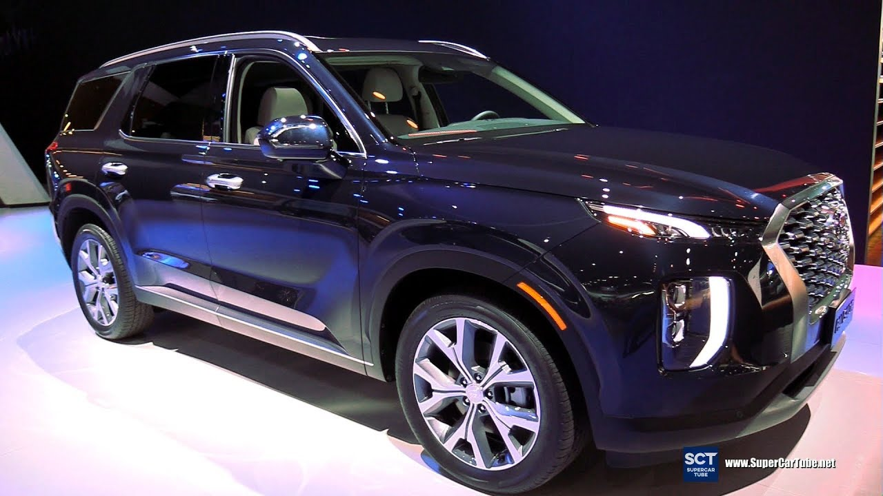 2019 Hyundai Palisade - Exterior and Interior Walkaround ...