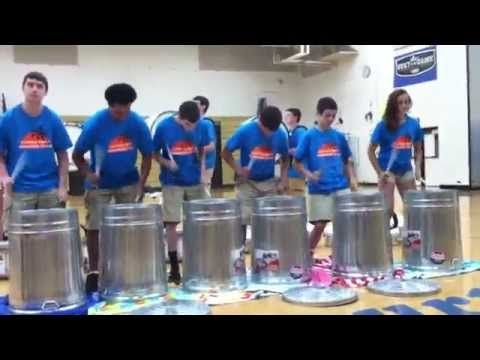 2015 05 Gorham Battle of the Bands/Gananda Percussion Trash Cans