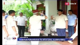 Para Purnawirawan Kopasus Bertemu Prabowo Subianto di Kertanegara - iNews Sore 18/04