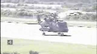 S-92 helicopter autorotation (power off landing)