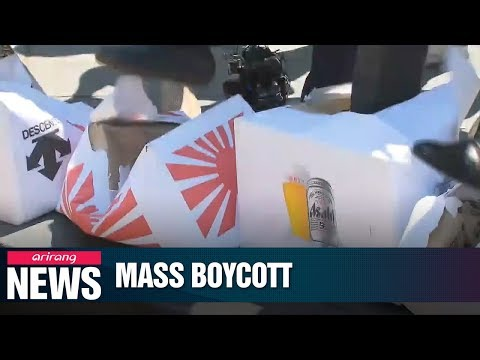 S. Koreans Boycott Japanese Goods, Travel Amid Tokyo's Trade Curbs