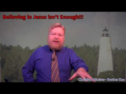 Demons Believe in Jesus. So What if You Do, Too? Simply Believing Doesn't Make You A Christian