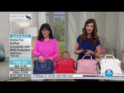 HSN | Emma Fox Handbags 05.04.2017 - 06 AM