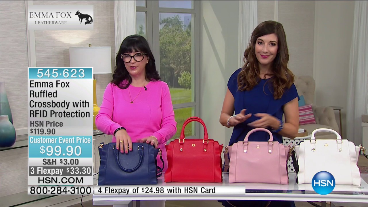 Hsn Emma Fox Handbags 05 04 2017 06 Am