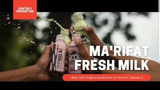 SUSU ASLI MA'RIFAT   GONTOR 3 ORIGINAL MILK PRODUCTION   ADVERTISING VIDEO