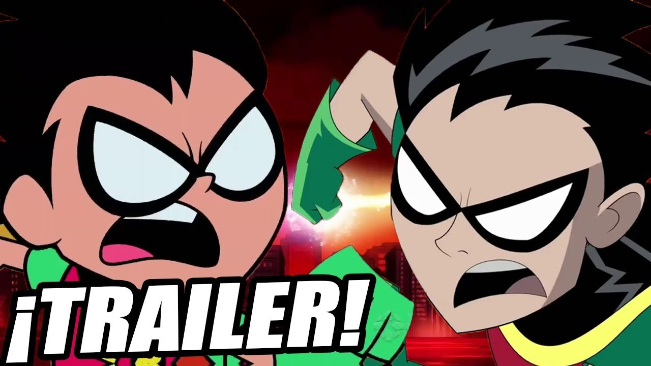 Teen Titans Vs Teen Titans Go Trailer Sub Espaol -1713