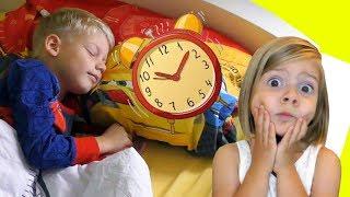 Девочки vs Мальчики  Наше Утро  Kids Morning Routine Are you sleeping Morning Song For Kids