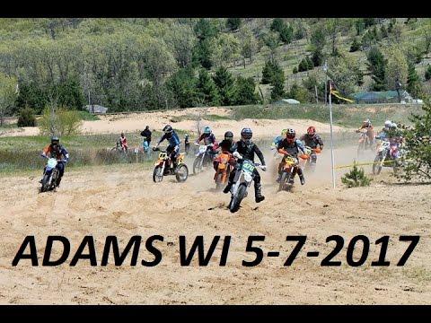 "Adams WI Hare Scramble: ""B"" Bike 5-7-2017"