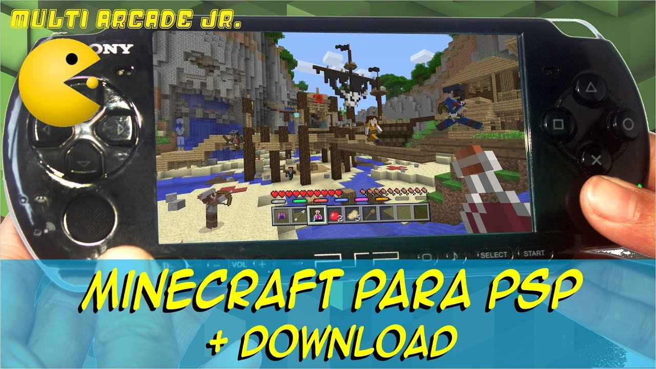 Minecraft-ppsspp android (link in description) youtube.