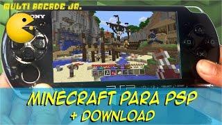 Minecraft para PSP + Download 2017