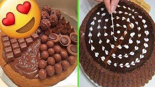 Come Decorare Una Torta Al Cioccolato E Non Solo 😋Cake Style 2018 🍰