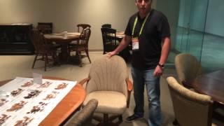 Chromcraft Showroom Las Vegas World Furniture Market August 2015
