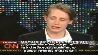MJsANGELS-  LARRY KING ENTREVISTA A MACAULAY CULKIN POR EL JUICIO CONTRA MICHAEL JACKSON 27/05/2004