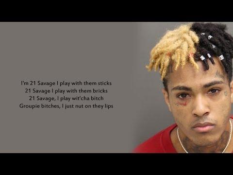 21 Savage, XXXTENTACION 100 Lyrics