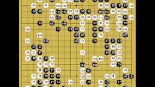 囲碁棋譜再現:2015年韓国女流囲碁リーグ第1節 黒:黒嘉々 vs 白:呉政娥