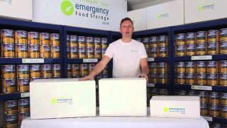 Emergency Food Storage Perfect Packaging