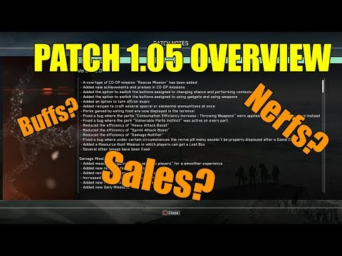 Metal Gear Survive- Patch 1.05 OVERVIEW