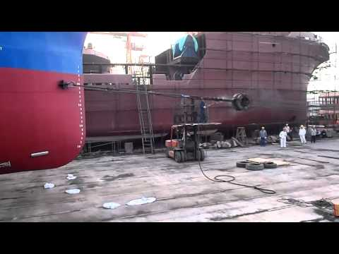 Launching Dutch Blue Tug