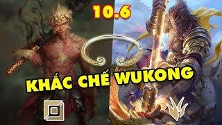 TOP 9 vị tướng có thể khắc chế Wukong – Mỹ Hầu Vương thống trị đường trên và khu rừng LMHT 10.6
