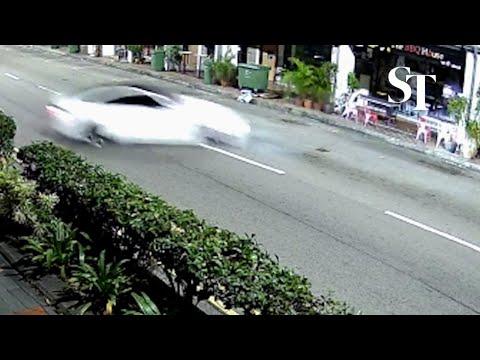 Exclusive: Video Of Tanjong Pagar Car Crash