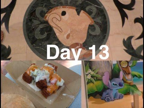 Day 13 Disney World | Food & Wine Festivities