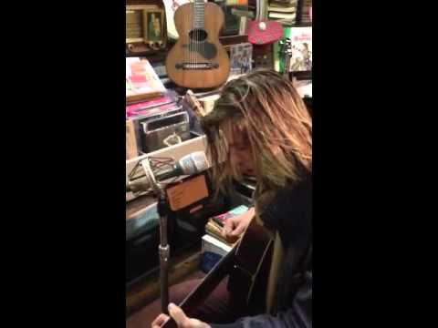 Jake at local music store in florence