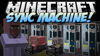 Minecraft | SYNC MACHINE! (Piggy Treadmills & Clones!) | Mod Showcase thumbnail