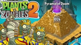 Pyramid of Doom Level 1024 | Plants Vs. Zombies 2 | Livestream Episode 9