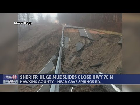 SR 70 remains closed in Hawkins County; Crews search for victims