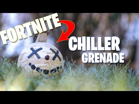 Woodturning - FORTNITE CHILLER GRENADE