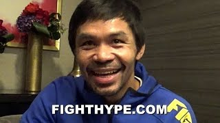 "PACQUIAO REACTS TO ""HEAVY"" MAIDANA CALLING HIM OUT; EXPLAINS WHY NEVER FIGHTING ABOVE 147 AGAIN"