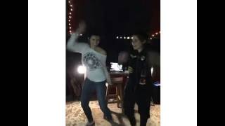 Paris Jackson dancing to Beat It and Smooth Criminal by Michael Jackson