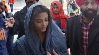Aishwarya Rai Bachchan visits Golden Temple || Amritsar